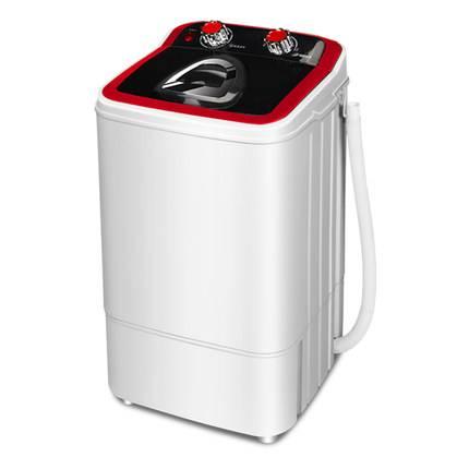 志高洗衣机小型家用洗脱一体带甩干半全自动大容量宿舍单桶筒迷你