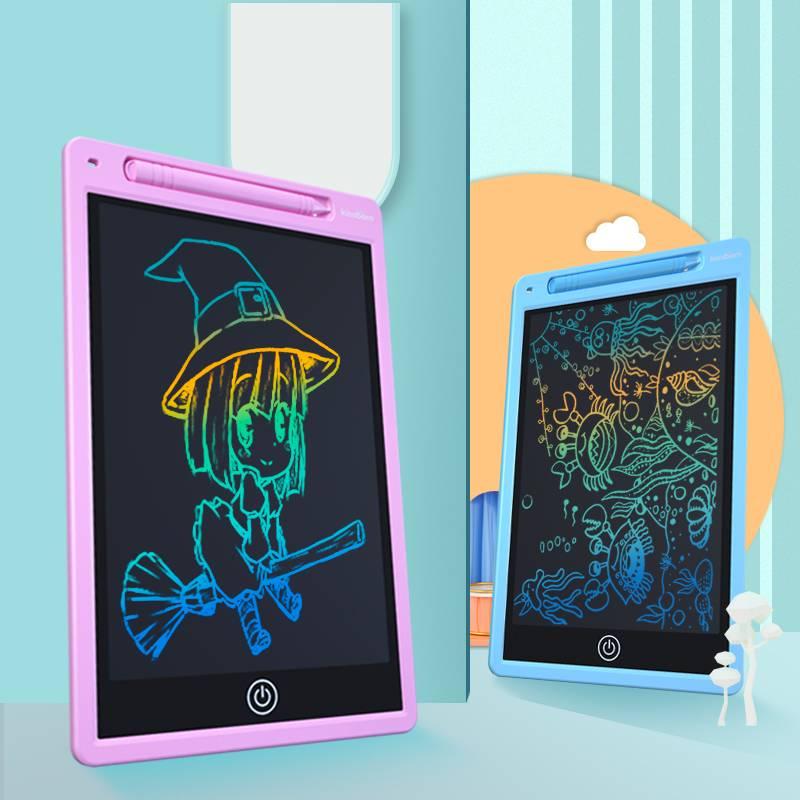 开心堡儿童画板玩具女孩家用写字板液晶手写板宝宝液晶画板小黑板
