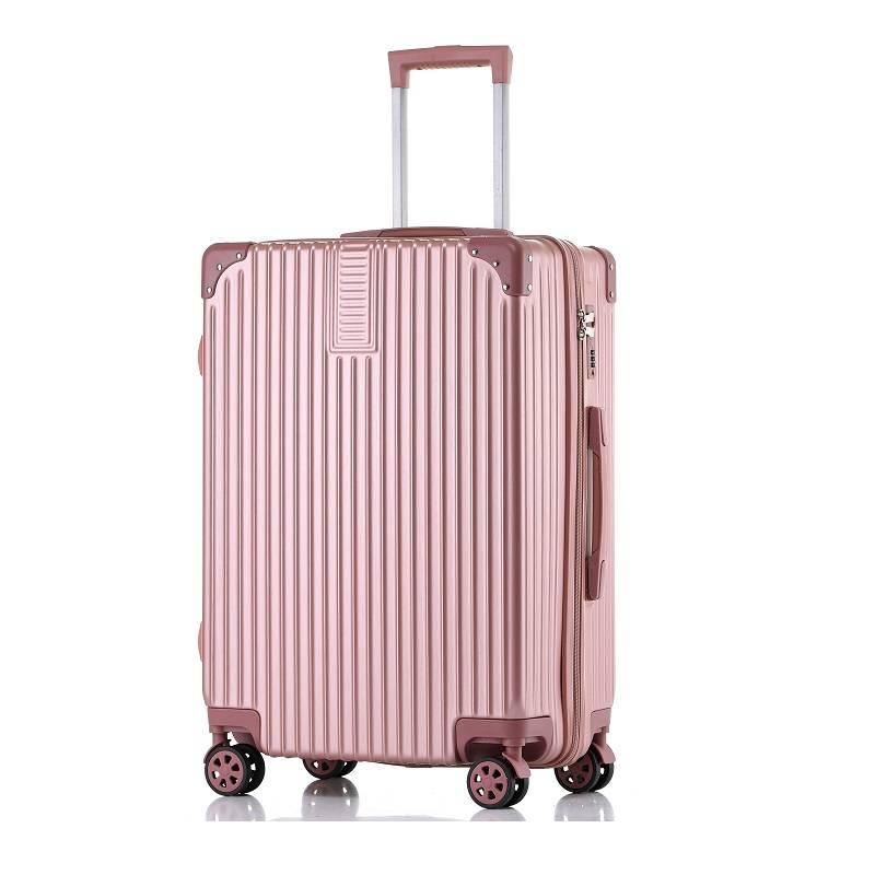 行李箱ins网红女拉杆箱万向轮20寸24皮箱子韩版铝框密码旅行箱男