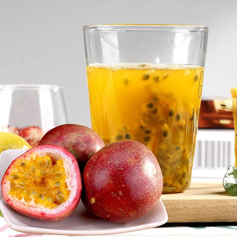 广西百香果5富硒水果新鲜鸡蛋果酱原浆带箱6斤装大红果当季整箱10