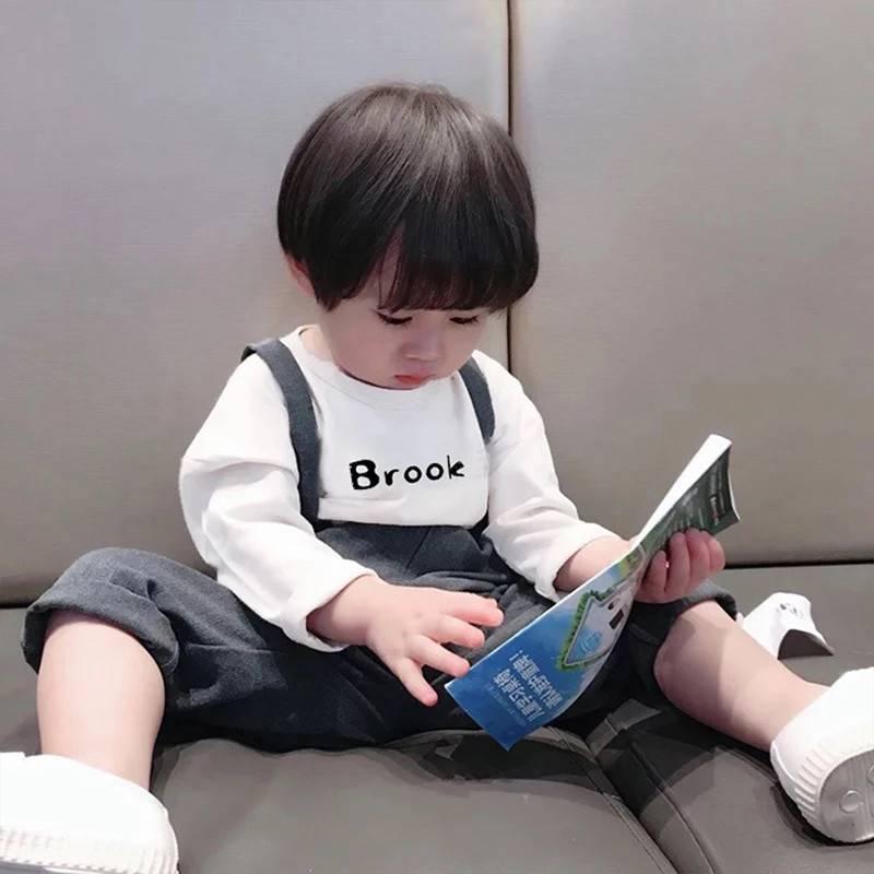宝宝长袖T恤纯棉2019春秋男女童 秋衣外穿婴儿打底衫儿童上衣洋气