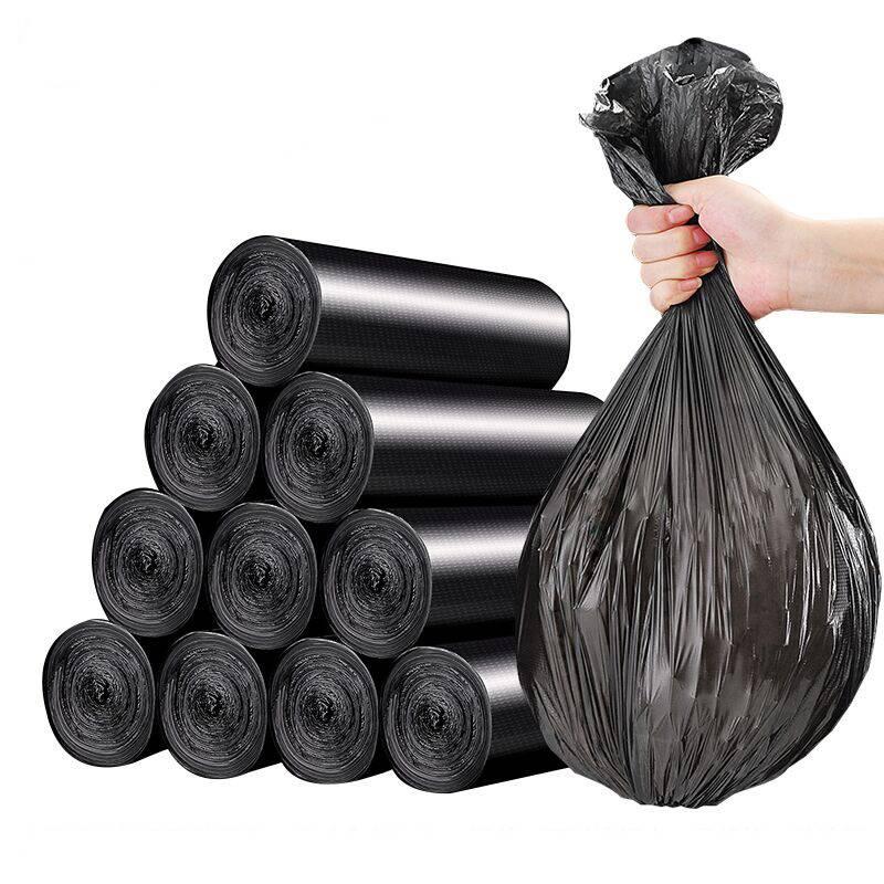 黑色物业垃圾袋大号加厚平口塑料袋酒店环卫宾馆医院超特大号