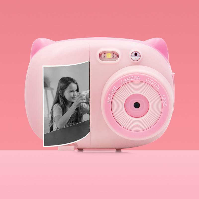 儿童数码照相机可拍照打印拍立得玩具小型学生便携随身男女孩礼物