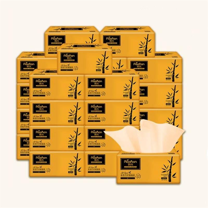 24包纸巾抽纸整箱餐巾纸实惠装家用卫生面巾纸抽擦手纸家庭装飘然