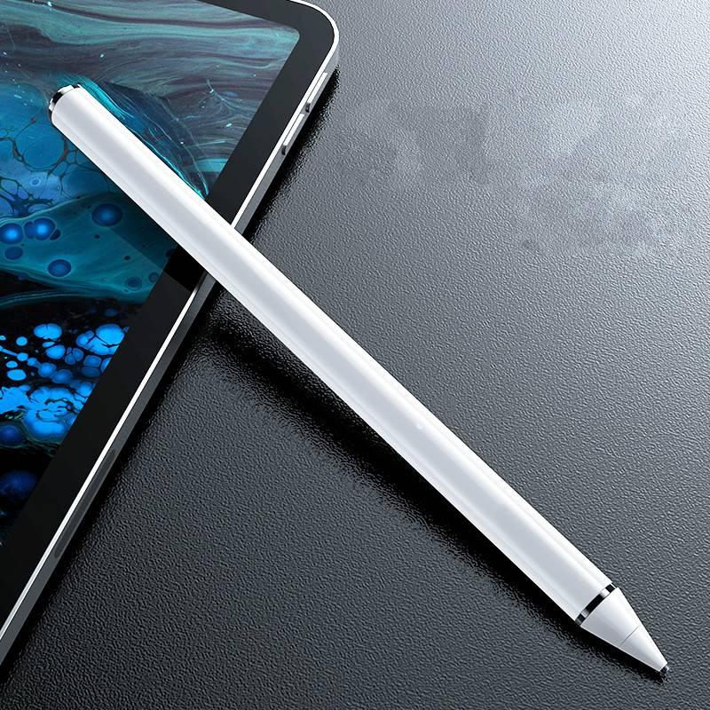 apple pencil电容笔ipad苹果一代2018平板手写手机触控air画笔2细头安卓华为m6主动式通用防误触电脑二