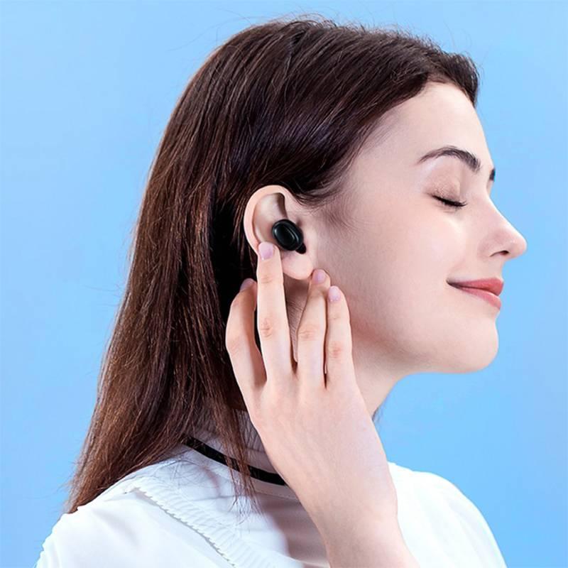 havit/海威特 隐形真无线蓝牙耳机单双耳入耳式迷你耳麦超长待机适用OPPO华为vivo苹果安卓通用男女生可爱款