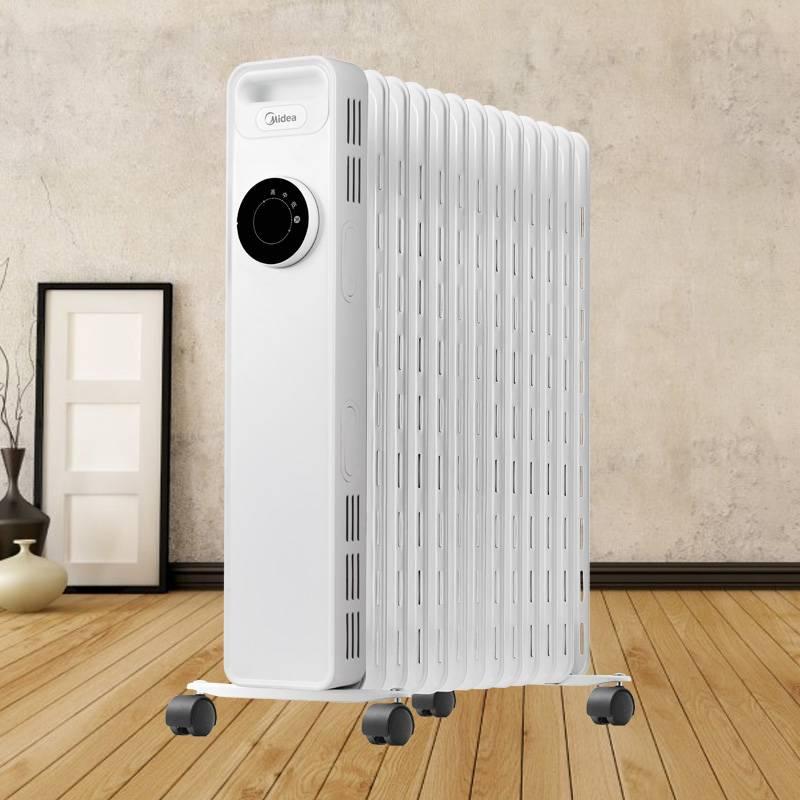 美的取暖器油汀家用节能电热油丁电暖气片暖风机省电烤火炉电暖器