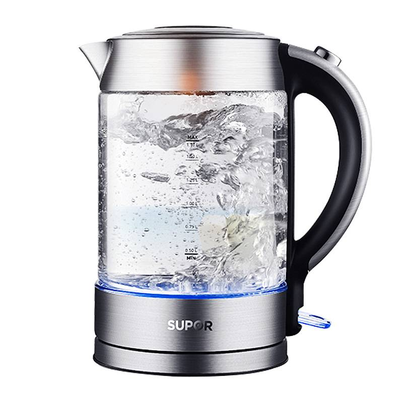 SUPOR/苏泊尔 SWF17E26A苏泊尔烧水壶电热水壶家用玻璃开水壶自动