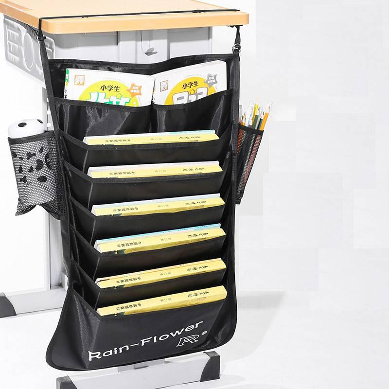 米诺娃书袋课桌收纳学生挂书袋大容量高中生加厚课桌神器书桌挂袋