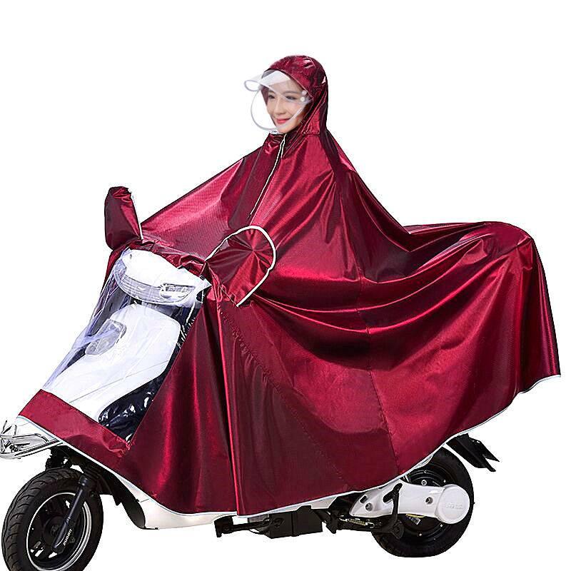 雨衣电动车摩托车雨披电瓶车成人加大骑行雨披遮脚单人双人男女士