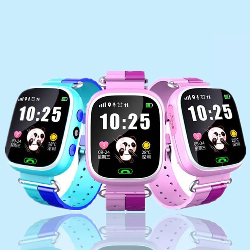 儿童智能电话手表多功能定位插卡通话移动联通版小孩拍照防水手环