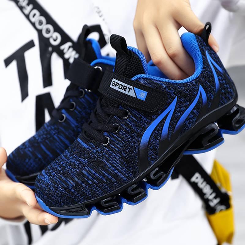 男童鞋2020新款春夏季网面透气运动鞋男童网鞋中大童小孩跑步鞋子