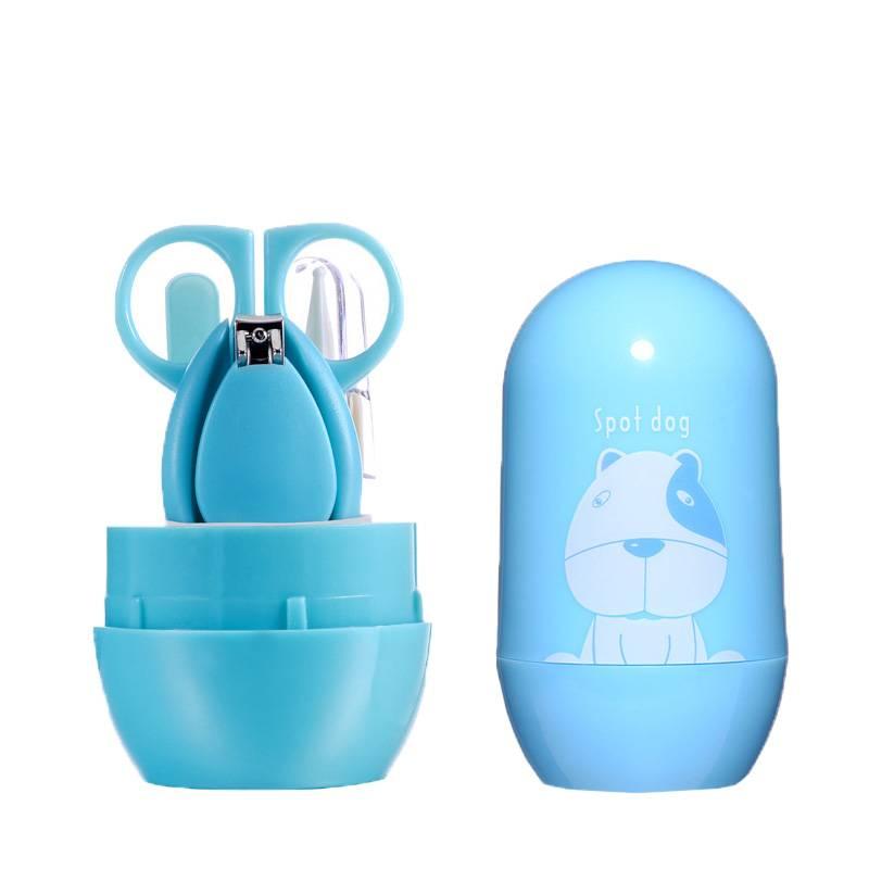 嬰兒指甲剪套裝寶寶指甲剪刀新生兒專用防夾肉嬰幼兒童用品指甲鉗
