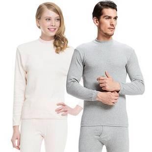 【三枪】纯棉半高领保暖内衣