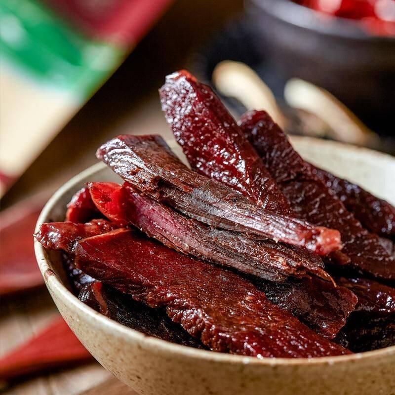 礼云阁 手撕牦牛肉干500克风干牛肉干麻辣五香藤花椒西藏特产零食