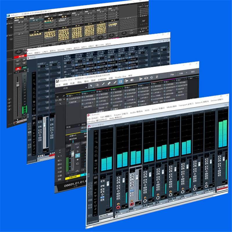 声卡调试创新5.1艾肯外置机架安装7.1内置kx驱动精调效果专业调音