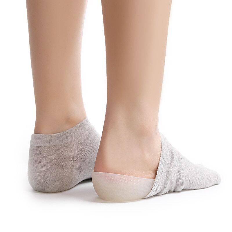 袜内隐形增高鞋垫男抖音同款仿生内增高袜女硅胶隐型体检增高神器