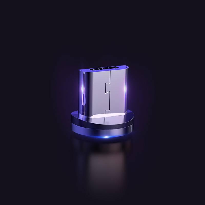 磁吸数据线强磁力手机充电线器磁性磁铁吸头苹果安卓三合一type-c华为快充vivo闪充通用小米吸铁石一拖三车载