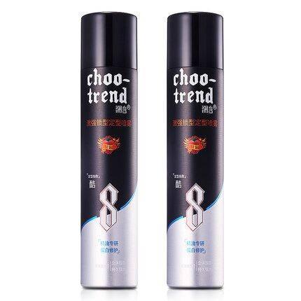 潮言男士发胶定型喷雾干胶定发剂清香无味持久啫喱水强力保湿造型