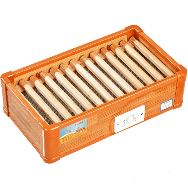 拓灵实木取暖器家用烤火炉节能电火桶暖脚烘脚器烤火箱烤脚器冬季