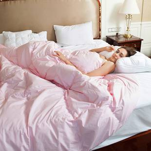 星级酒店95%羽绒被子加厚保暖