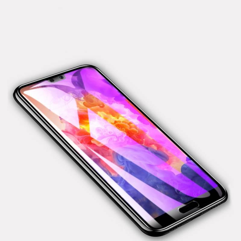 华为p20钢化膜p30pro全屏覆盖华为mate20 pro手机膜mate20X抗蓝光护眼RS曲面玻璃全包边防指纹全包贴