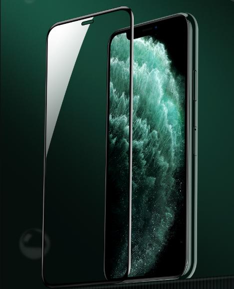 IPhone11钢化膜苹果11promax全屏覆盖防窥膜pro手机细边贴膜max全包防偷窥por蓝光刚化黑边11porm