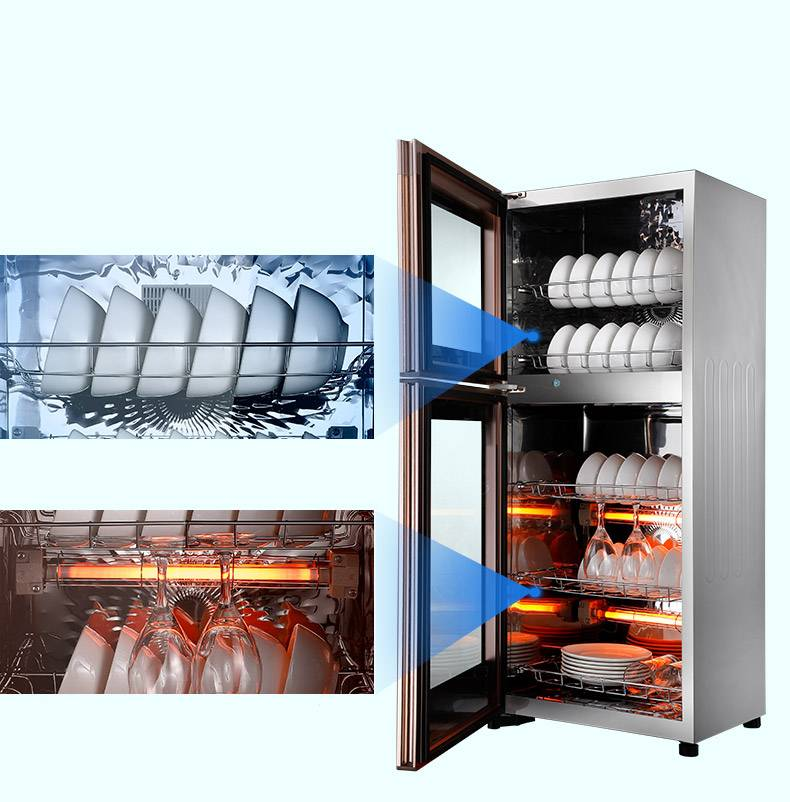 康佳碗筷碟大容量 消毒柜立式家用消毒柜商用小型迷你单双门碗柜