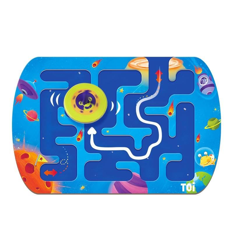 TOI玩转迷宫陀螺游戏儿童益智玩具4-5-6-7-8岁专注力训练宝宝早教