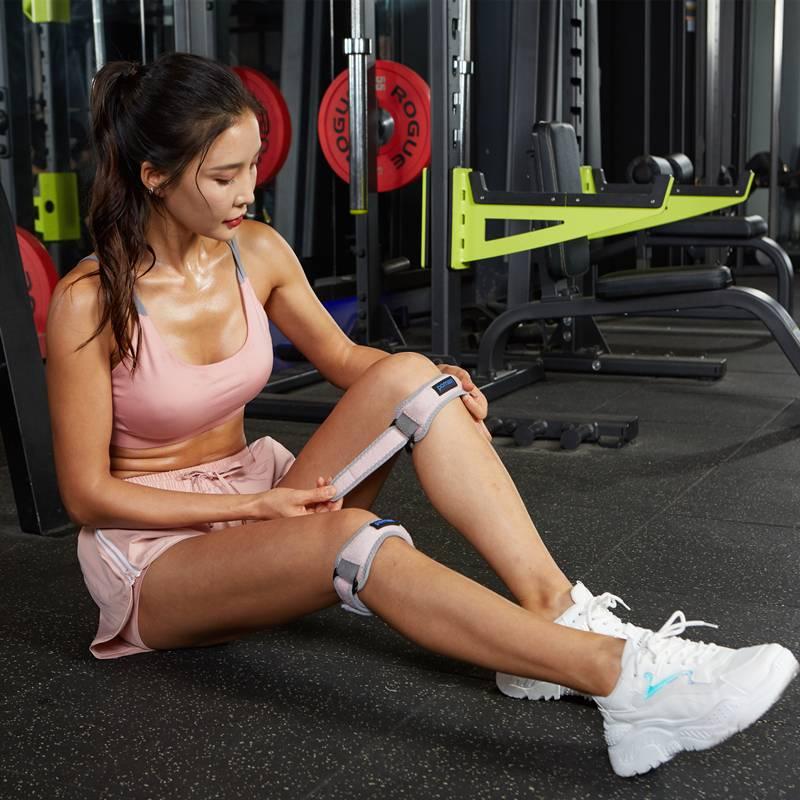 髌骨带护膝专业跑步男女运动保护膝盖保护套半月板薄款固定带夏季