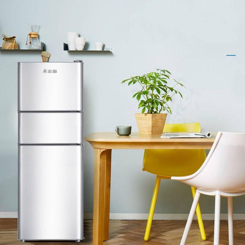 Chigo/志高BCD-116S160家用三开门电冰箱三门式小型宿舍全国联保