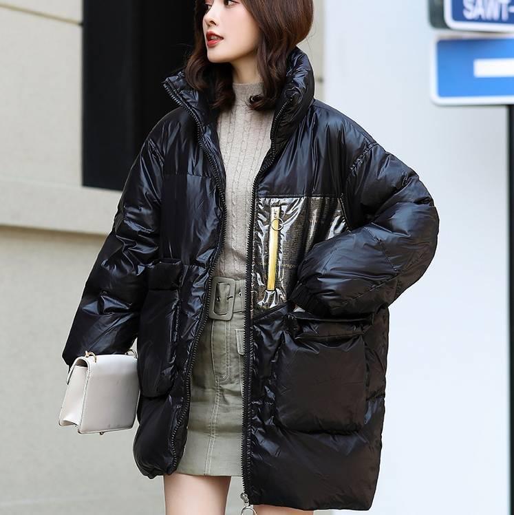 马克华菲女装2019冬季新款女款轻薄羽绒服短款薄款 韩版宽松