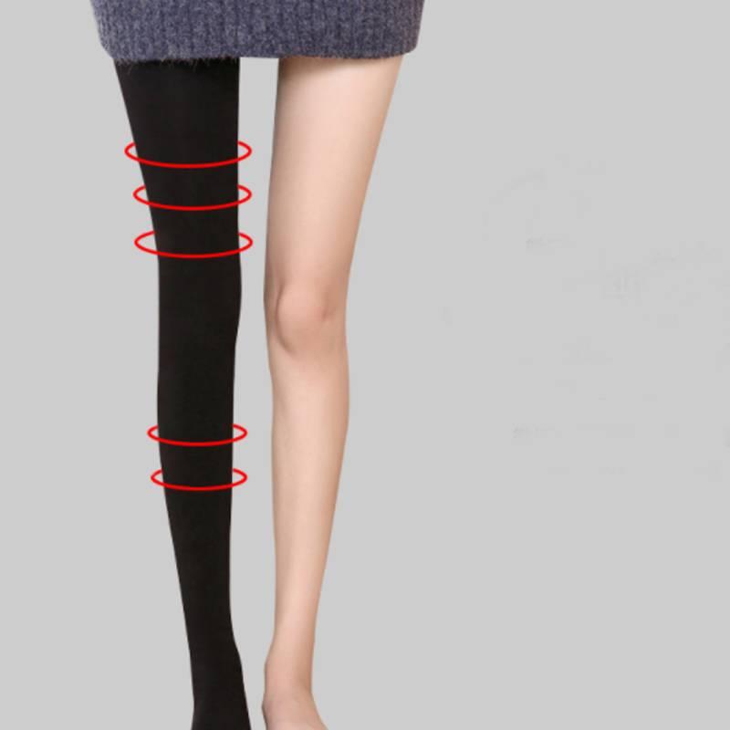 韩国打底袜女春秋冬中厚加绒外穿瘦腿压力连裤袜光腿肉色丝袜神器