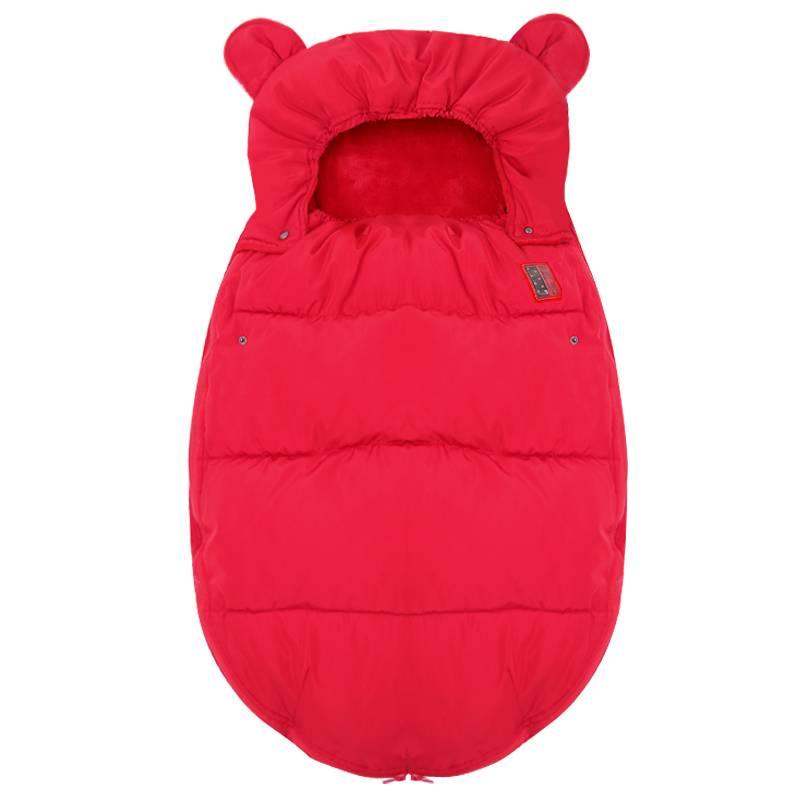 防惊跳包被婴儿 初生秋冬款新生儿襁褓外出宝宝包被睡袋两用