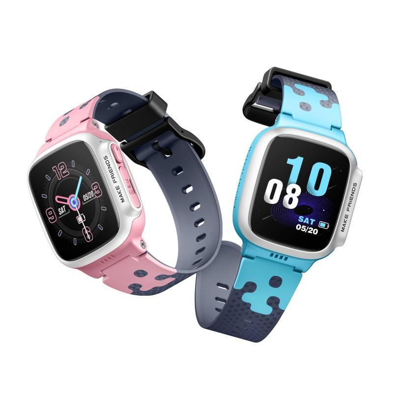 小学生天才儿童电话手表智能定位防水男女孩子运动学生手机插卡多