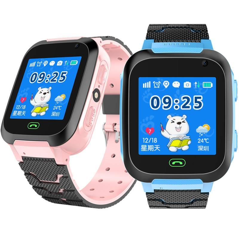 域云电话手表学生儿童智能拍照gps天才多功能触摸屏小孩可爱通话手表防水孩手机手环定位运动电话男女