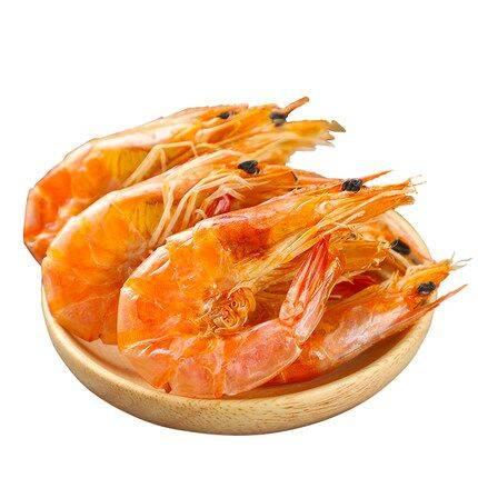 东山岛海虾干对虾烤干虾干货海鲜零食新鲜野生淡晒即食非特大大号