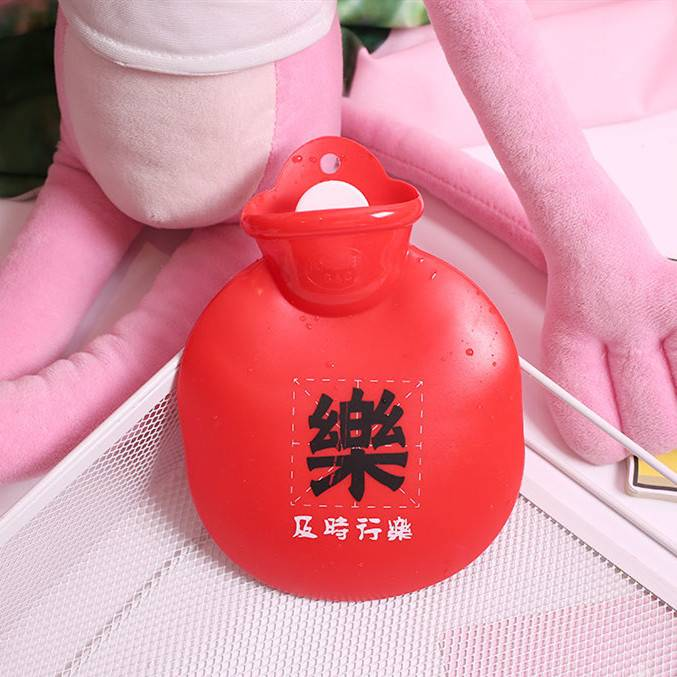加厚PVC注水热水袋安全防爆充水暖水袋冲水灌水暖手袋暖宫暖手宝