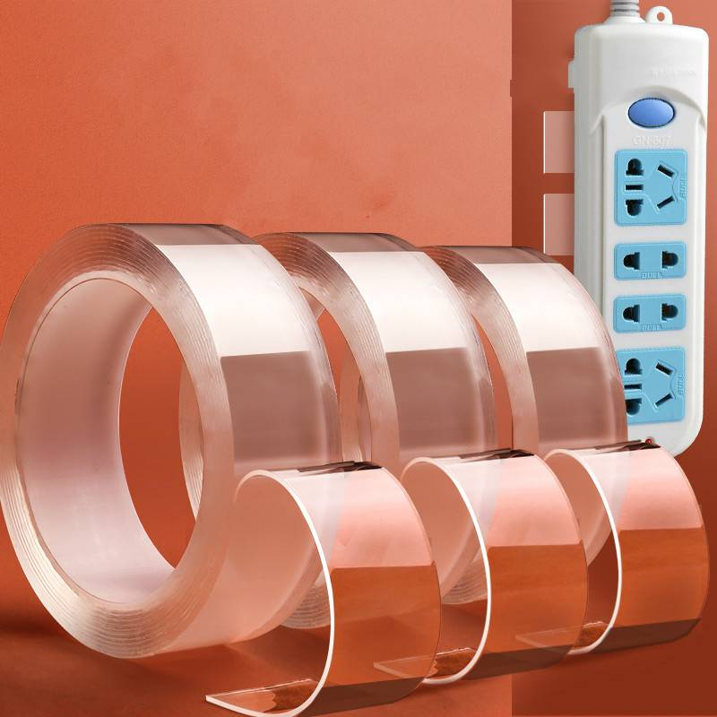 【买1发3】纳米双面贴强力万能修复塑料无痕防滑贴固定黏粘胶