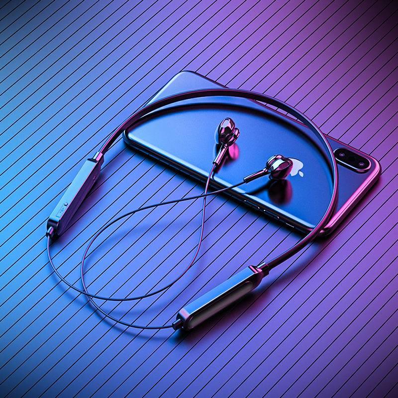运动无线蓝牙耳机双耳5.0入耳头戴式颈挂脖式跑步游戏安卓苹果通用小型适用oppo华为iphone小米超长待机续航