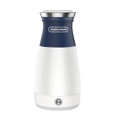 摩飞便携式烧水壶保温一体全自动家用小型英国旅行折叠式电热水壶