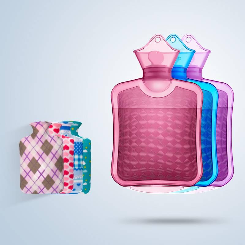 热水袋注水式暖水袋随身大号小号灌水手袋学生暖手宝冲水暖脚床上
