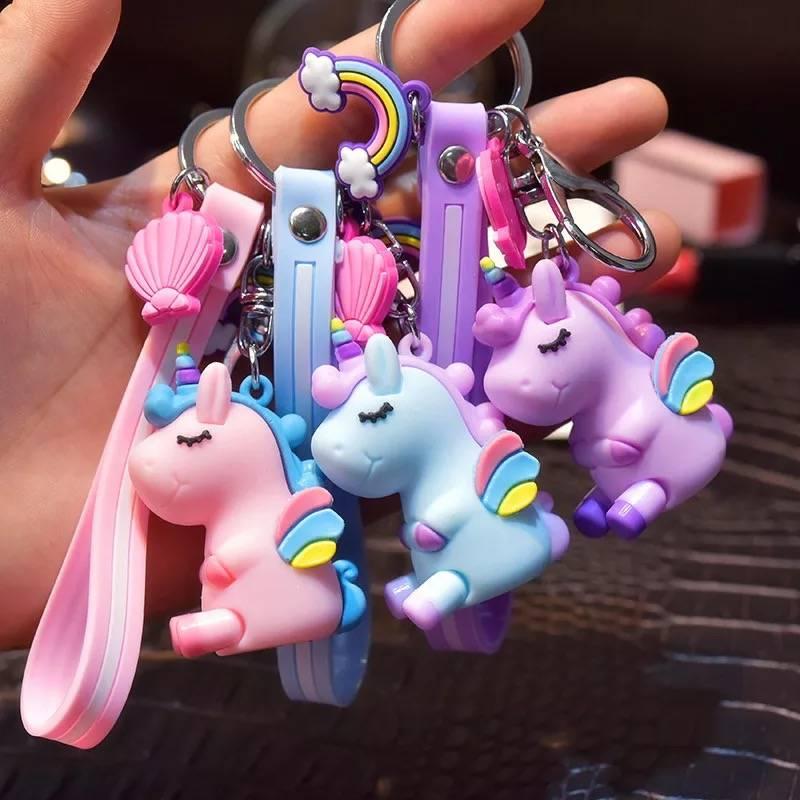 萌宠包包挂饰卡通情侣钥匙扣创意可爱钥匙链男女小动物钥匙扣挂件