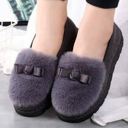 【老北京】男女防滑加厚加绒棉鞋