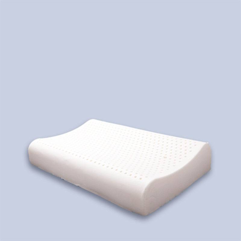 泰国乳胶枕头一对成人护颈椎单双人学生天然橡胶高低狼牙记忆枕芯