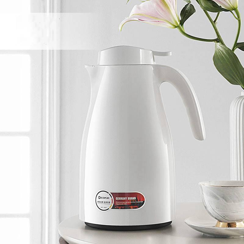 德国EDISH家用保温壶便携暖壶开水热水瓶大容量玻璃内胆保温水壶