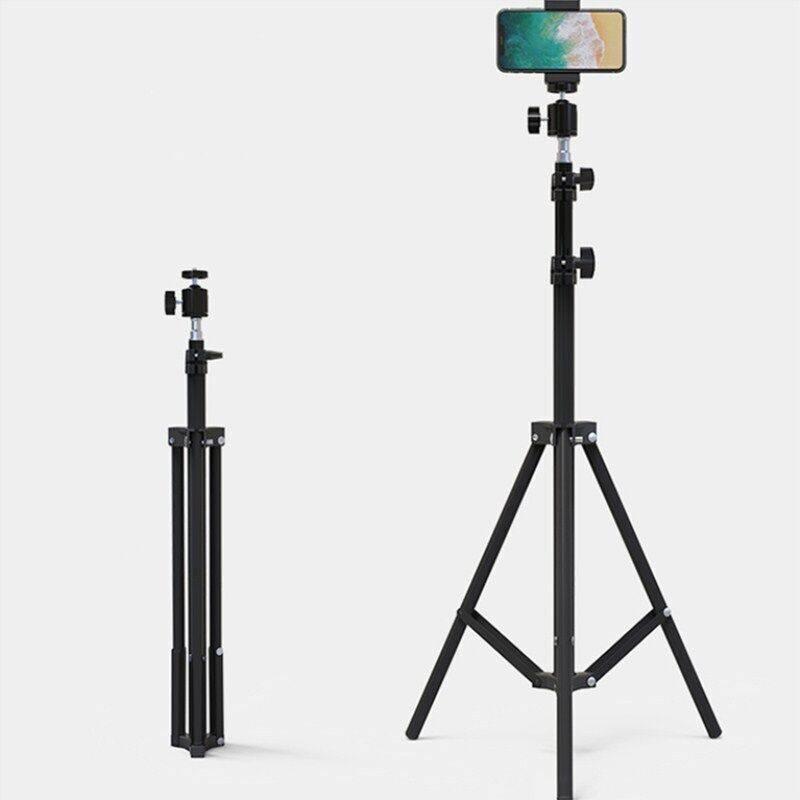 手机直播支架带补光灯懒人三脚架三角架子拍摄影拍照主播设备自拍网红多功能快手落地相机户外录像视频大光圈