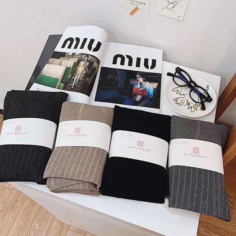 【官方直营 2条更优惠】羊绒1900D打底裤保暖裤竖条纹加绒棉裤冬