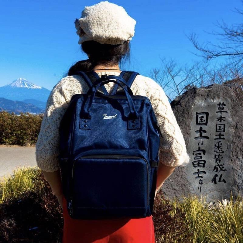日本乐天高端lzc&wzb多功能母婴妈咪包宝妈双肩背包休闲出行旅游