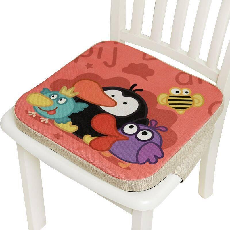 儿童餐椅增高垫学生坐垫加厚宝宝椅子垫便携式小孩多功能吃饭垫子